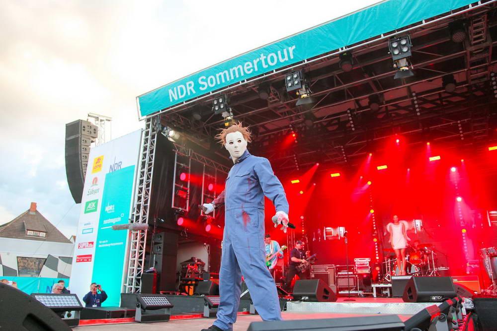 Michael Meyers auf der Bühne NDR Sommertour