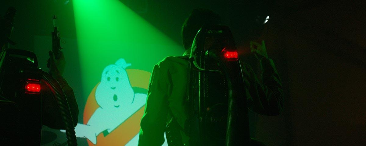 Titelbild Show mit den Ghostbusters
