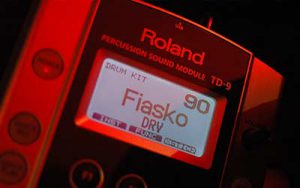 Tontechnik. Drummodul Roland TD-9