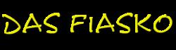 Das Fiasko Logo Startseite oben links