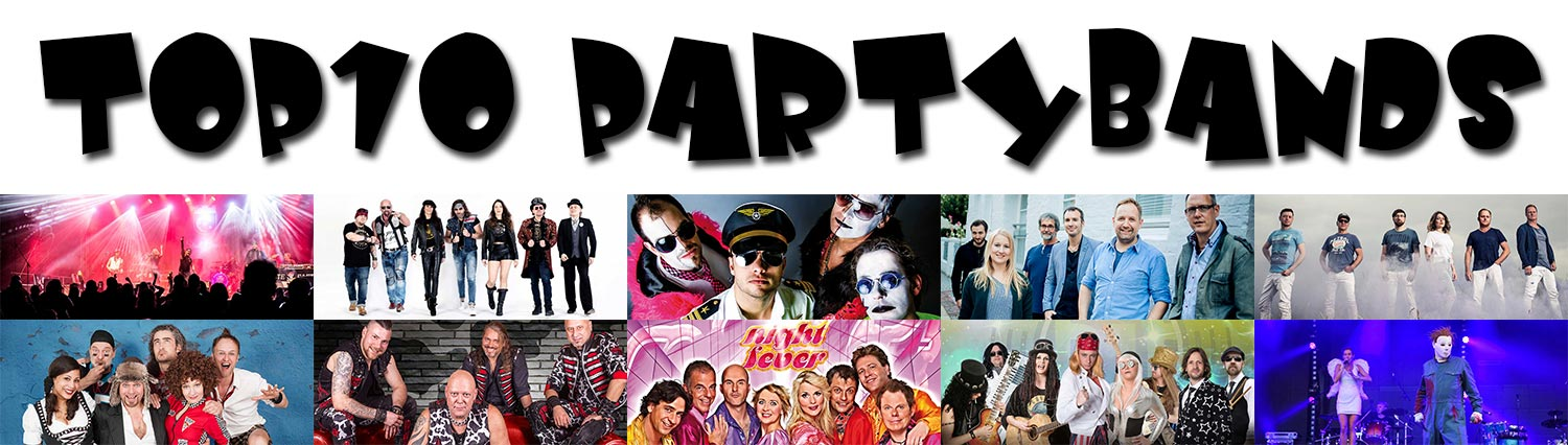 TOP10 - Partybands Banner