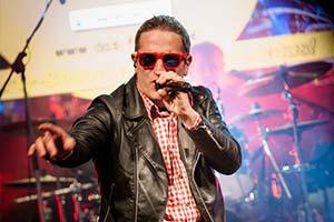 Sänger als Andreas Gabalier verkleidet